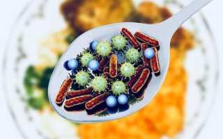 Бактериальные пищевые отравления