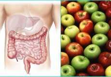 Эффективные способы чистки кишечника и организма яблоками
