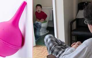 Как ставить клизму в домашних условиях