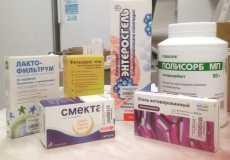 Энтеросорбенты: список препаратов для детей