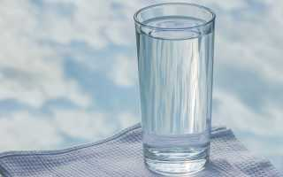 Очищение организма с помощью воды