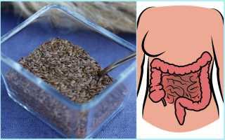 Почему нужно очищать кишечник семенами льна