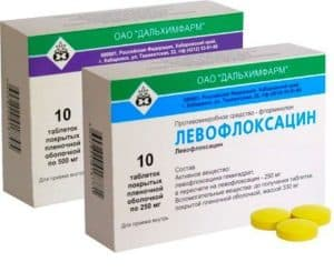 Антибиотик в таблетках