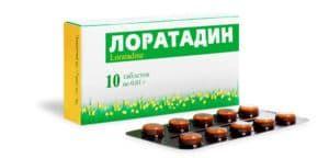 Антигистаминный препарат Лоратадин