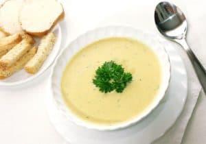 Перетертый суп из овощей