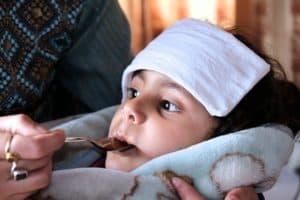 Дробное отпаивание ребенка