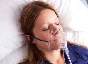 Ингаляция кислорода