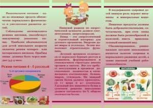 Рекомендации по  питанию для детей