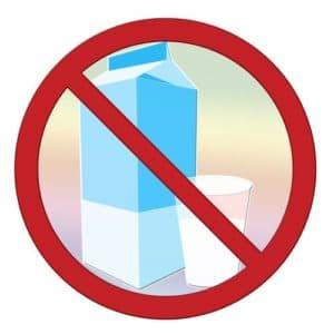 Молоко запрещено к употреблению