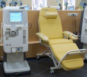 Аппарат и место проведения гемосорбции при тяжелом отравлении