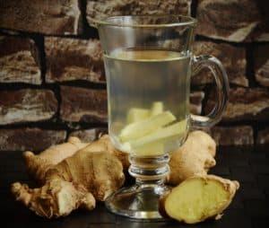 Имбирный чай при высокой температуре