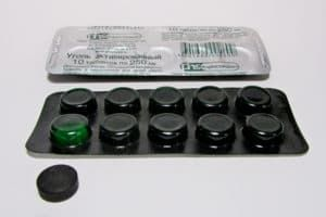 Упаковка с активированным углем