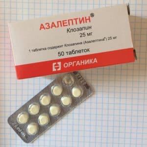 Азалептин в таблетках