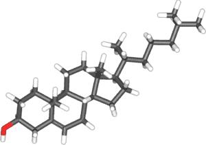 Холестерин (в 3d-проекции)