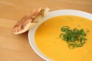 Перетертый овощной суп