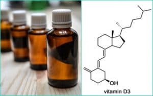 Флаконы и витамин D3