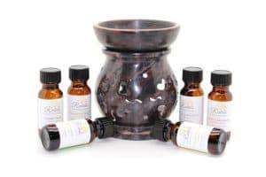 Эфирные масла и аромалампа