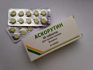 Аскорутин в таблетках