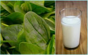 Щавель и молоко